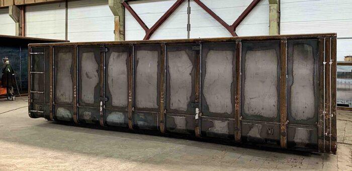 Виробництво контейнерів зі сталі Єврометал